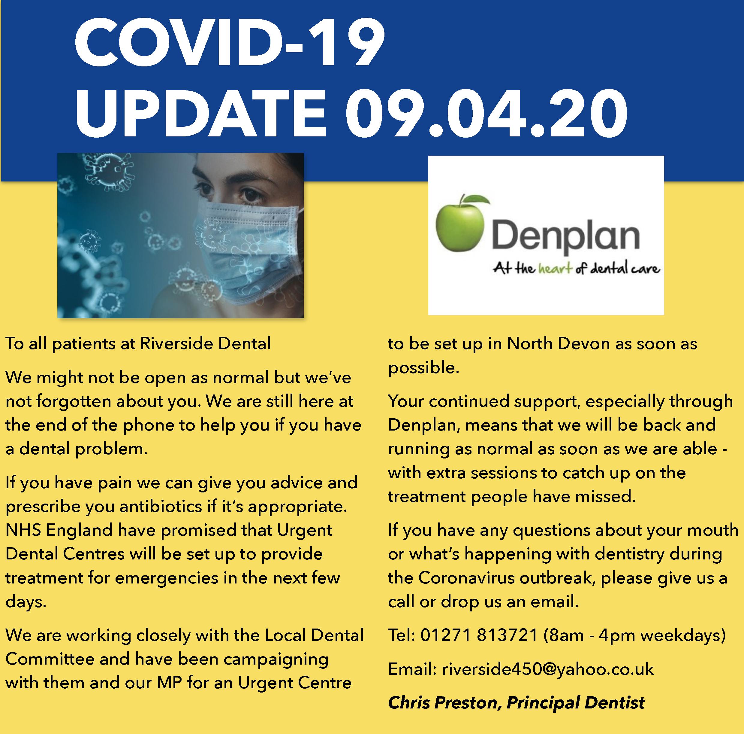 Coronavirus 09.04.20